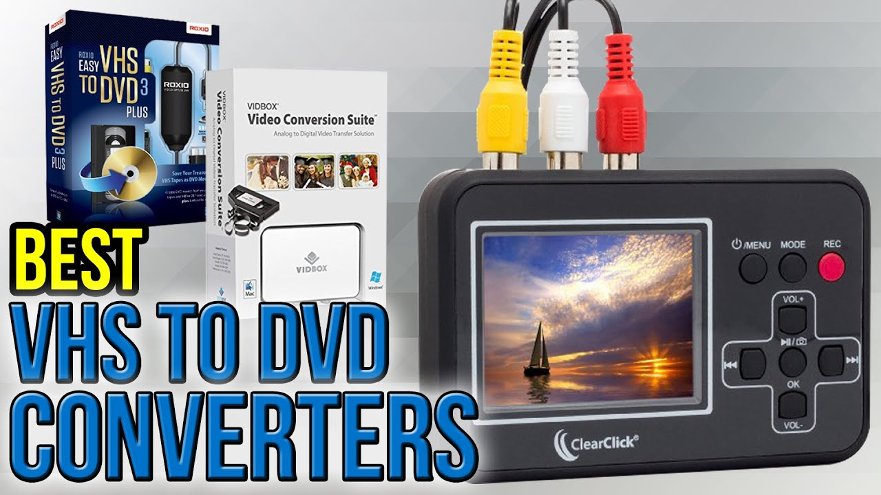 Best VHS to Digital Converter