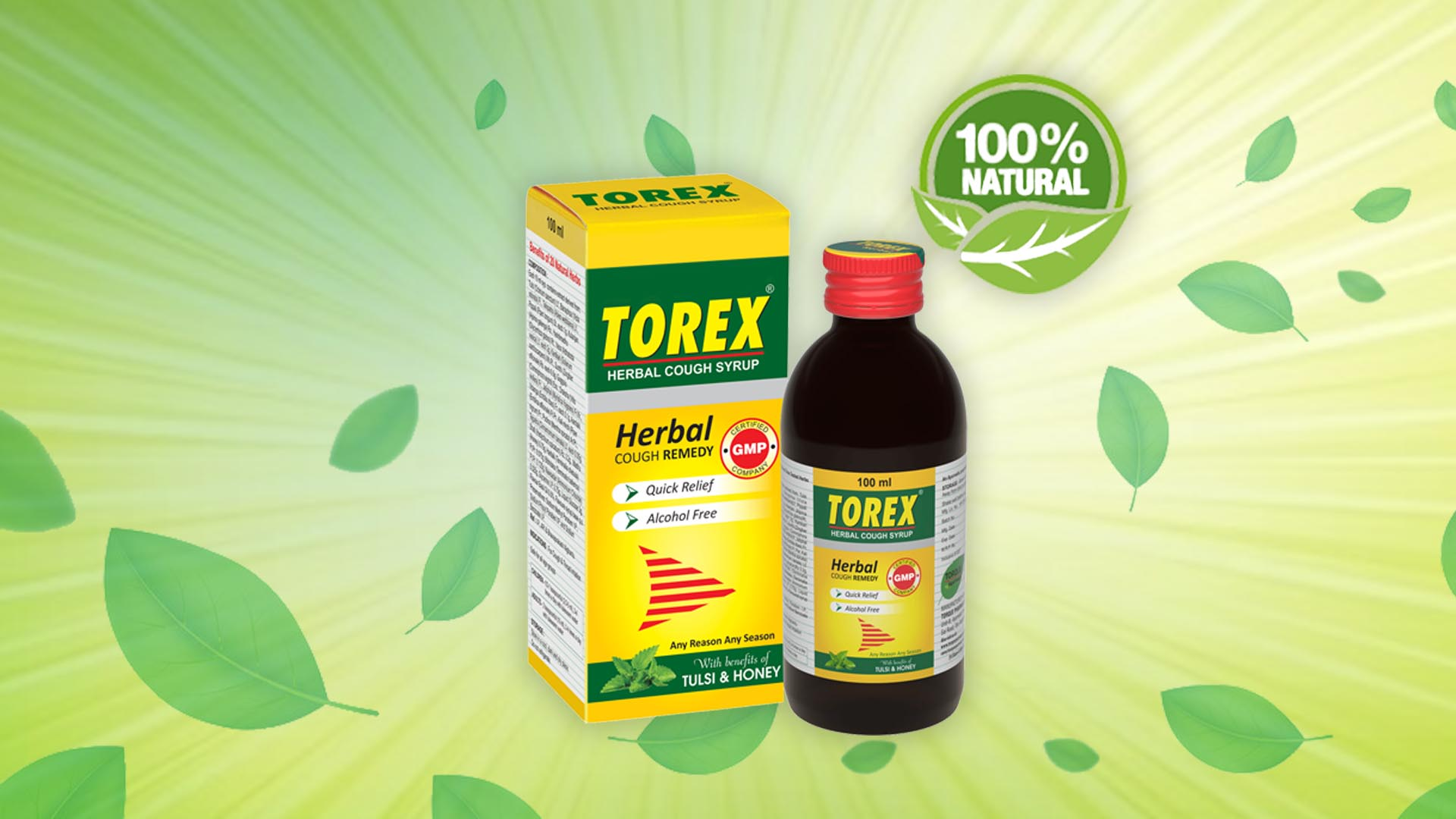 torex cough syrup with honey