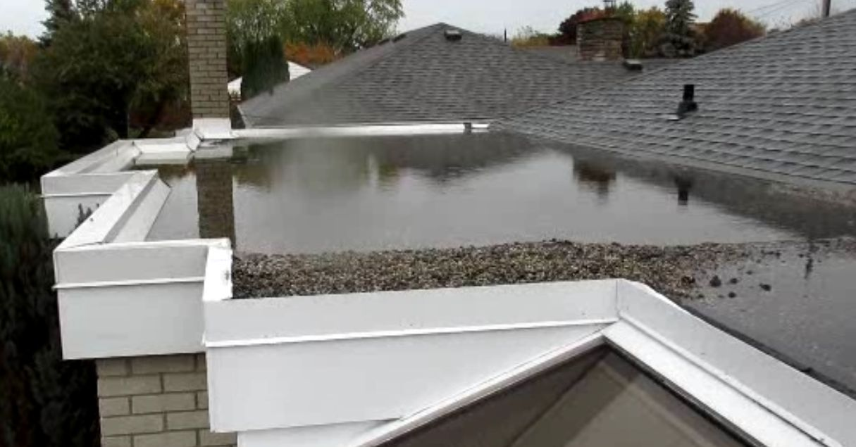 Pooled water and water related damages