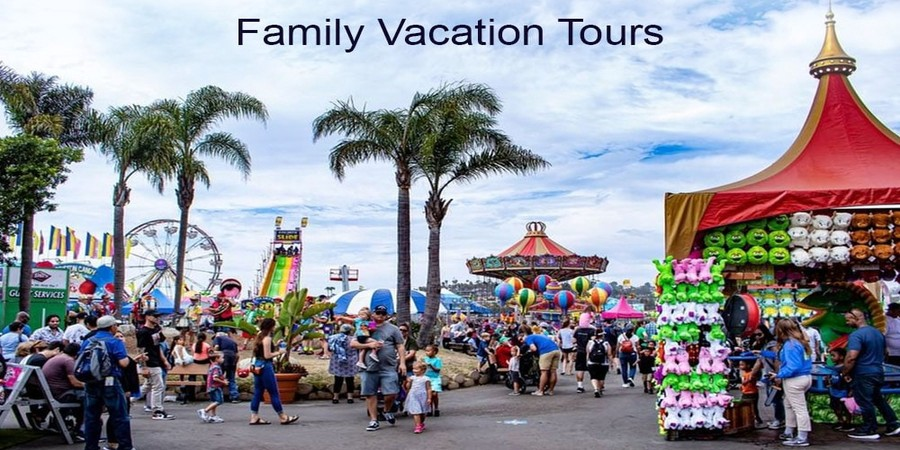 Family Trip Place in the USA