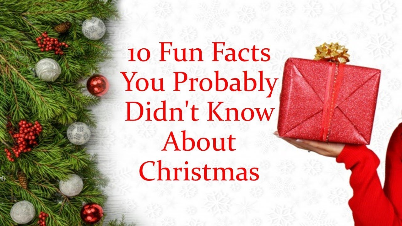 10 Christmas facts that no one knows